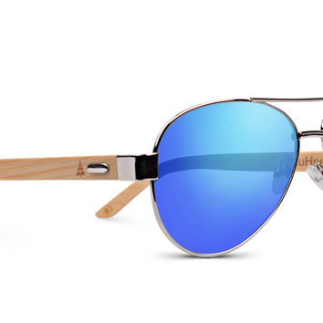 Wooden Sunglasses // Top Gun 54