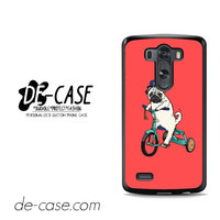 Pug Bicycle For LG G3 Case Phone Case Gift Present