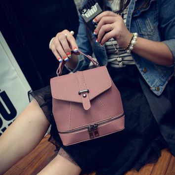 Winter Mini Backpack Stylish Simple Design One Shoulder Bags Tote Bag [6582799879]