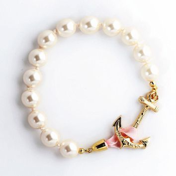 Atlantic Pearl Bracelet by Kiel James Patrick