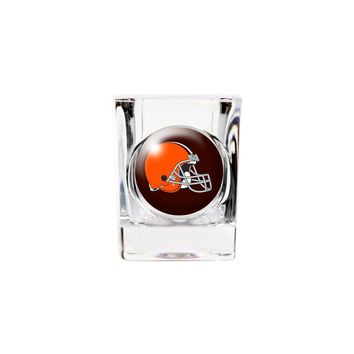 Cleveland Browns 2oz Square Shot Glass - Etching Personalized Gift Item