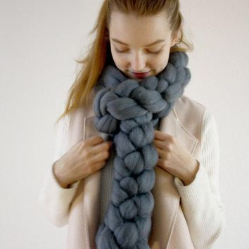 Ladies Wool Handcrafts Scarf [120846483481]