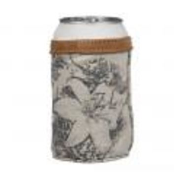 Flower Tapesty Can Koozie