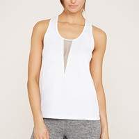 Active Mesh-Paneled Top | Forever 21 - 2000152290