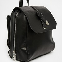 ASOS | ASOS Slot Through Scratchy Backpack at ASOS