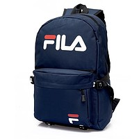 Fila Women Fashion Leather Shoulder Bag Handbag Backpack