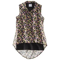 D-Signed Girls' Short-Sleeve Top - Multicolor