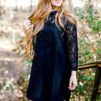Simply Irresistible Black Lace Dress