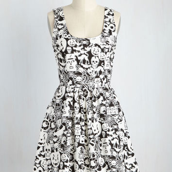 Creatures of the Fright Dress | Mod Retro Vintage Dresses | ModCloth.com