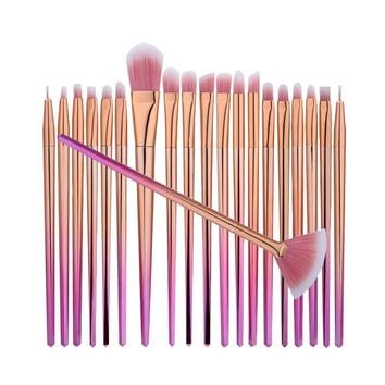 20pcs Cosmetic Makeup Brush Set