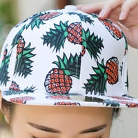Unisex Pineapple Cap Hot Summer Gift 51