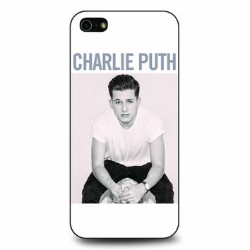 Charlie Puth Album iPhone 5/5s/SE Case