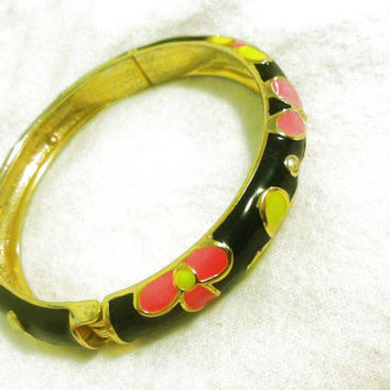 Betsey Johnson Flower Bangle