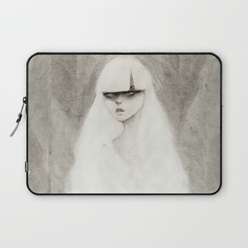 From the Other Side Laptop Sleeve by Ben Geiger