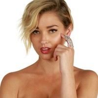 Silver Knock Out Knuckle Ring