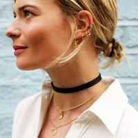 Cool Womens Punk Choker Necklace + Nice Gift Box