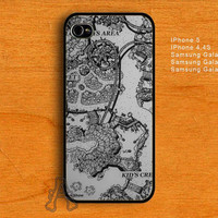 Disney Peterpan NeverLand Map-IPhone 4 / 4S / 5 Case-Samsung Galaxy S2 / S3 / S4 Case-AA25072013-3