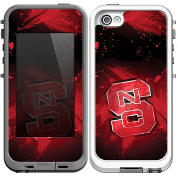 The Custom NC State Apple iPhone 5c LifeProof Fre Case Skin