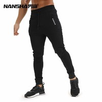 Autumn New Gyms Joggers Casual Men Sweatpants Joggers Trousers Sporting Clothing Bodybuilding Pants