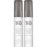 De-Slick Double Shot Travel Size Makeup Setting Spray Duo