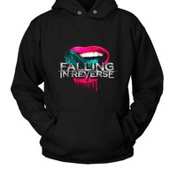 DCCKL83 Falling In Reverse Just Like Your Hoodie Two Sided