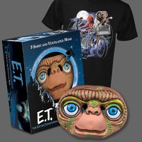 E.T. The Extra Terrestrial - Limited Edition Mask and T-Shirt - Fright-Rags