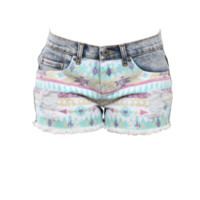SPRING INTO AZTEC SHORTS