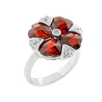 Garnet Artisan Ring (size: 06) (pack of 1 EA)