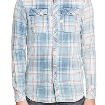 Men's G-Star Raw 'Landoh Heapcheck' Washed Plaid Shirt,