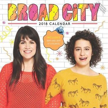 Broad City Wall Calendar, Comedy TV by Chronicle Books