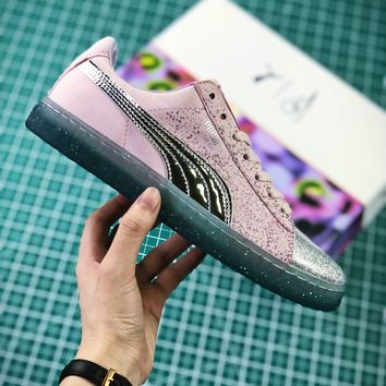 Sophia Webster X Puma Suede Glitter Princess Bling Bling Women's Sneakers - Best Online Sale