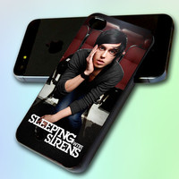 Kellin Quinn of Sleeping With The Sirens by GreatCover Print Design for iPhone 4/4s iPhone 5 Samsung S3 i9300 Samsung S4 i9500