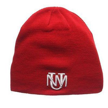 Licensed New Mexico Lobos Official NCAA Edge Adjustable Beanie Knit Sock Hat by Zephyr KO_19_1