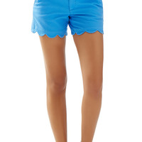 "5"" Buttercup Scallop Hem Short - Lilly Pulitzer"