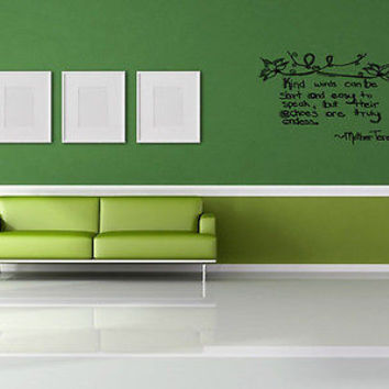 Imagine, Desire, Act quote wall sticker quote decal wall art decor 5245
