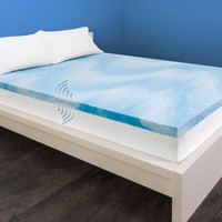 "HoMedics 2.5"" Active Support Mattress Topper - Walmart.com"
