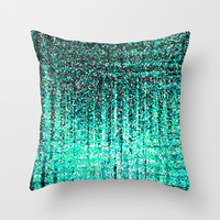 Put It On Throw Pillow by Serena Gailey