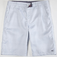 O'neill Executive Mens Hybrid Shorts - Boardshorts And Walkshorts In One White  In Sizes