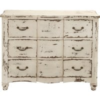 Coolly Rustic Wood 6 Drawer Chest