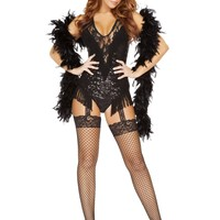 Roma RM-4748 2pc 1920's Party Flapper