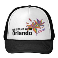 We stand with Orlando Trucker Hat