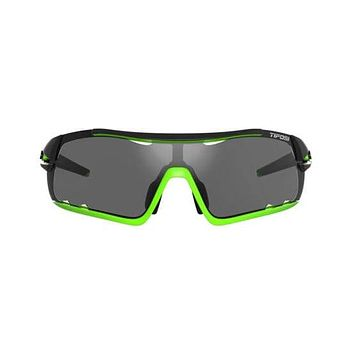 Tifosi - Davos Race Neon Sunglasses / Smoke AC Red Clear Lenses