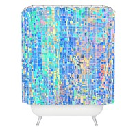 Lisa Argyropoulos When Oceans Collide Shower Curtain