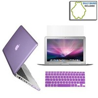 SmackTom 3 in 1 Rubberized Hard Case Skin for Macbook Pro 13 inches with Protective Keyboard Cover