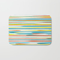 Stripe Bath Mat by DAVID DARCY