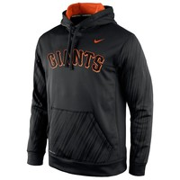 Nike San Francisco Giants KO Speed Logo Therma-FIT Performance Hoodie