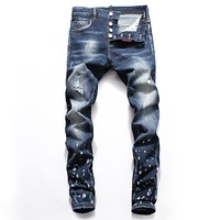 Dsquared2  Fashion Casual Loose Jeans Pants Trousers