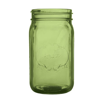 Green Mason Jar Wedding Glass Mason Jar Decor Bulk Mason Jars Mason Jar Centerpiece