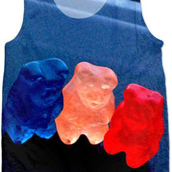 Red White And Blue Gummy Bears