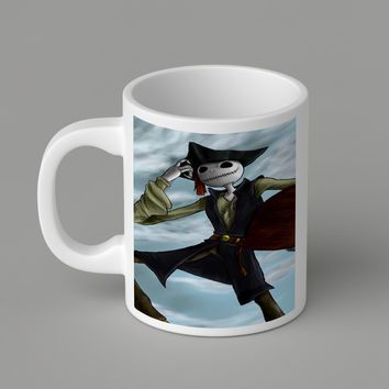 Gift Mugs | Pirate Jack Skellington Ceramic Coffee Mugs